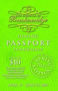 mud season breckenridge dining discounts